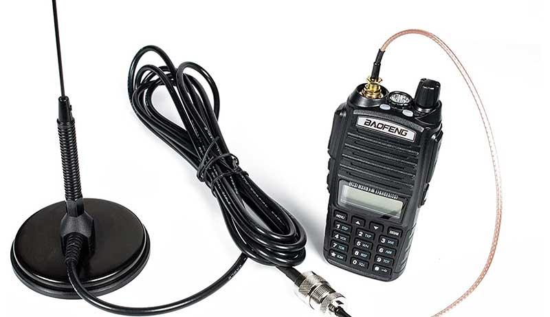 Dual Band Mobile Antenna