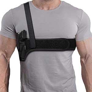 Aikate Shoulder Holster Shield 9mm   Deep Concealment