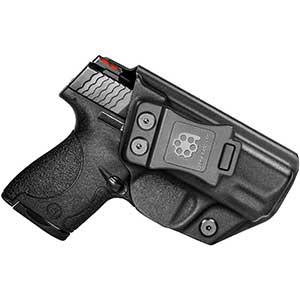 Amberide Kydex Holster for S&W Shield | Left Hand Draw