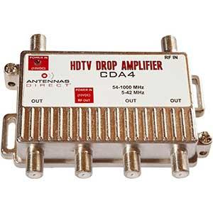 Antennas Direct 4-Port Amplifier | 90 Days of Warranty