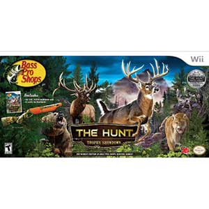 Bass Pro Shops -The Hunt Bundle   Wii Hunting Games