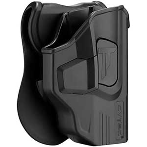 CYTAC Polymer OWB Holster for M&P Shield 9mm │ Glovelike fit