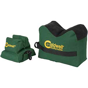 Caldwell Front & Rear Bag for Benchrest Shooting | Combo Pack