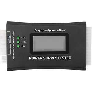 HDE Tester for ATX, ITX, BTX, PCI-E, SATA, HDD | 20+4 Pin | LCD