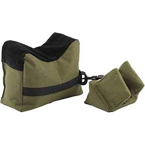 Hiram Front and Rear Shooting Sandbag   Army Green Color