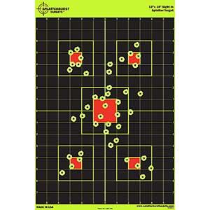 Splatterburst Sight In Shooting Targets   Non-Adhesive