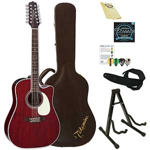 Takamine JJ325SRC-12-KIT-2 Acoustic-Electric Guitar   12-String
