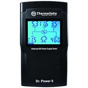 Thermaltake Dr. Power II Power Supply Tester | Oversized LCD