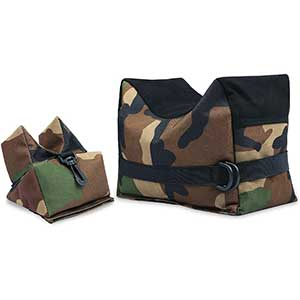 Twod Rear Bag for Benchrest Shooting | 900D Oxford | Camouflage