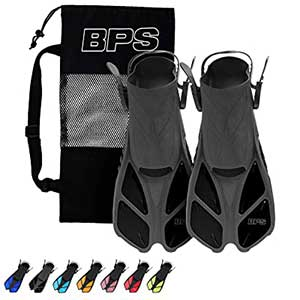 BPS Float Tube Fins │ Ergonomic Pattern