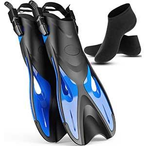 Cozia Design Adjustable Float Tube Fins │ Unisex