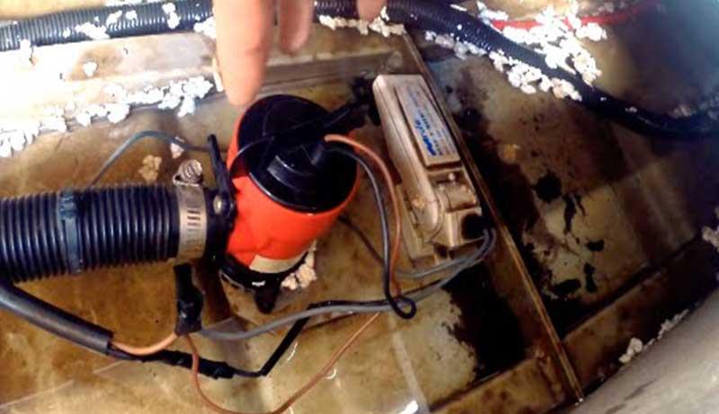 Float Switch for Bilge Pump