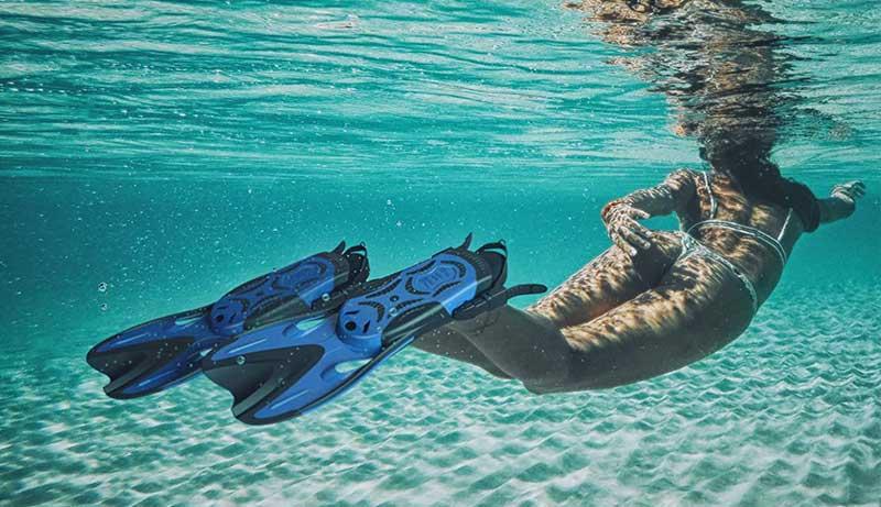 Float Tube Fins