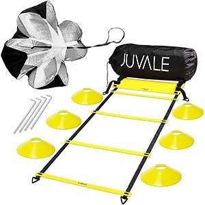 Juvale Speed and Agility Ladder Drills │ Dual-purpose