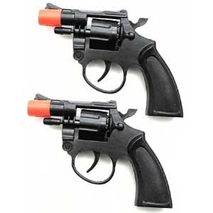 Magic Source Police Style Cap Guns For Kids | Set Of Two