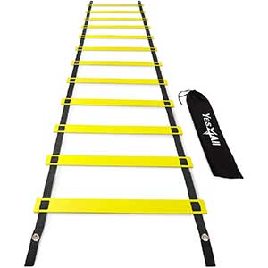 Yes4All Ultimate Agility Ladder │ Sturdy Build