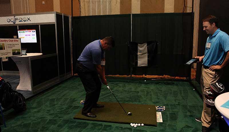 Golf Mat for Skytrak