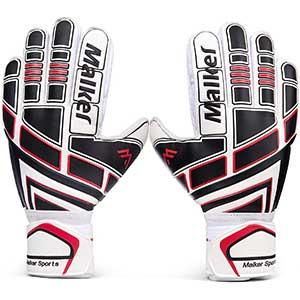 Malker Soccer Goalkeeper Gloves with Finger Protection │ Breathable