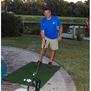 Real Feel Golf Mat for Skytrak | Authentic Country Club Elite Mat