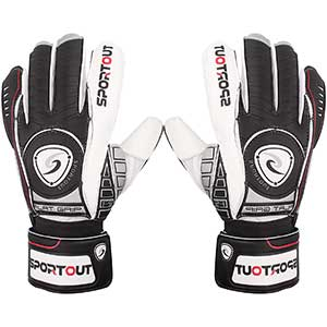 Sportout Goalkeeper Gloves with Finger Protection │ Lightweight