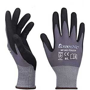 DS Safety Touch Screen Work Gloves | Nylon Knit