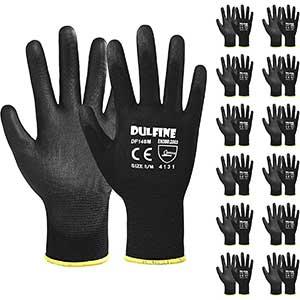 DULFINE Thin Work Gloves │ Light Duty Work