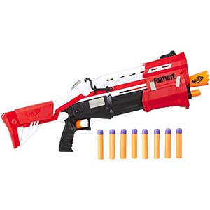 Fortnite Blaster Nerf Shotgun | Pump Action Dart Blaster