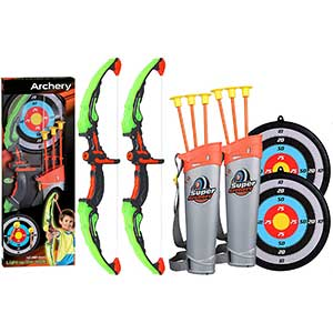 Fstop Lab Suction Cup Bow and Arrow Set   Two Sets