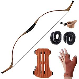 Huntingdoor Mongolian Bow | 30-60 Pounds Draw Weight