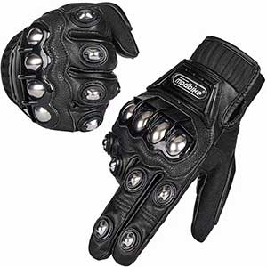 ILM Touch Screen Motorcycle Gloves | Full Protection