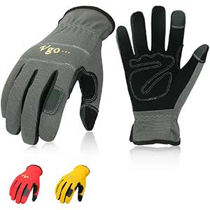 Vgo Touch Screen Work Gloves | Safety Builders Glove