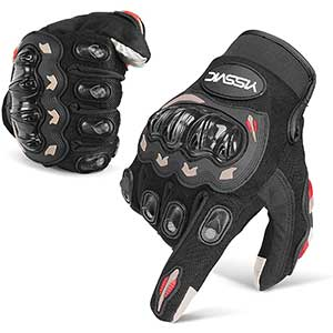 YISSVIC Touch Screen Motorcycle Gloves | Shockproof